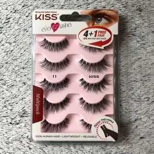 KISS EVER EZ LASH Multipack #11 - 5 Pair